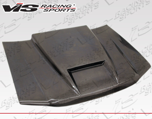 1982-1993 Chevrolet S10 Carbon Fiber Ram Air Hood