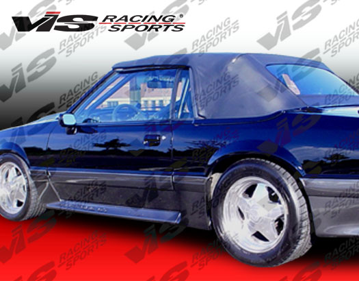 1979-1993 Ford Mustang 2Dr Cobra R Side Skirt