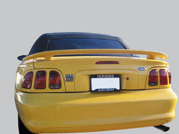 1994-1998 Ford Mustang 2Dr Gt Factory Style Spoiler No Light