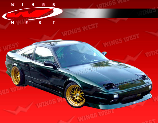 1989-1994 Nissan 240Sx 2Dr/Hb Jpc Type 2 Side Skirts