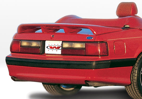 1987-1993 Ford Mustang Lx Cobra Style Rear Lip Polyurethane