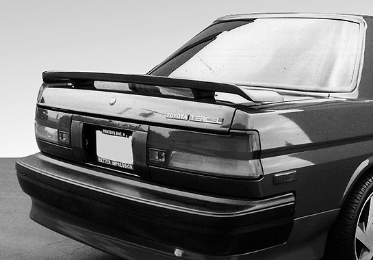 looking for 1989 1990 toyota tercel custom style 2 leg wing with light spoiler body kits depot