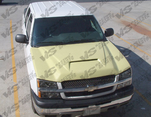 2003-2006 Chevrolet Silverado Fiber Glass Outlaw Type 1 Hood