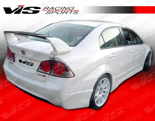 2006-2011 Honda Civic 4Dr Type R Concept Rear Spoiler